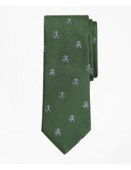 Herringbone Fleece Tie by Brooks Brothers