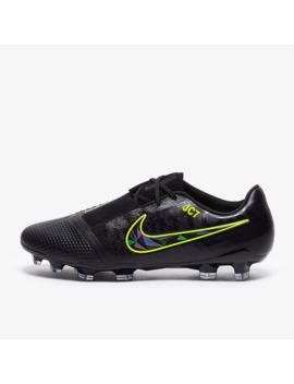 Nike Phantom Vnm Elite Fg   Schwarz/Volt by Pro Direct Soccer