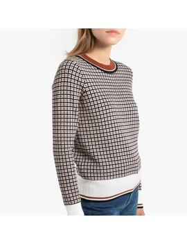 Pull Jacquard Col Rond by La Redoute
