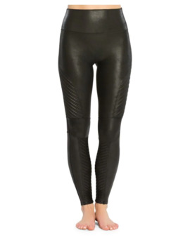 Faux Leather Moto Leggings by Spanx