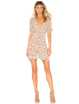 Marianne Mini Dress In Bastille Floral by Faithfull The Brand