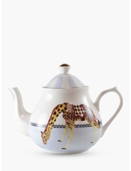 Yvonne Ellen Giraffe 4 Cup Teapot, Multi, 1 L by Yvonne Ellen