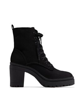Run To You   Black Suede by Miss Lola