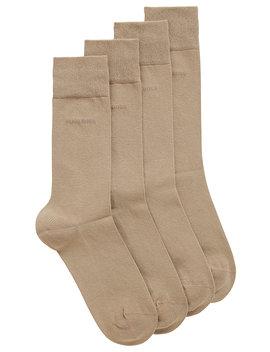 Two Pack Of Regular Length Cotton Blend Socks Two Pack Of Regular Length Cotton Blend Socks by Boss