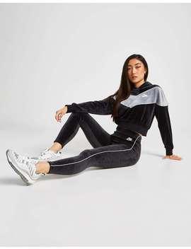 Nike Heritage Velvet Leggings by Jd Sports
