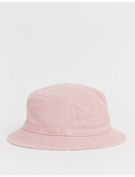 Adidas Originals Trefoil Logo Bucket Hat In Pink by Adidas