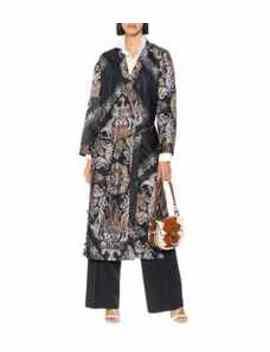 Printed Twill Kimono by Chloé