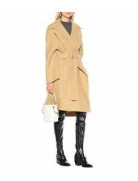 Stretch Wool Coat by Chloé