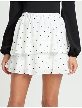 Zarah Elasticised Mini Skirt by Calli