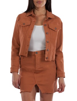 Kara Crop Jacket by Kut From The Kloth