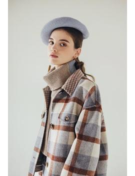 Stockholm Wool Jacket   Blue by Petite Studio