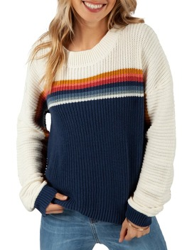 Rise And Shine Stripe Sweater by Rip Curl