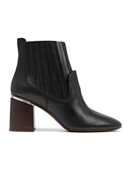 Leather Ankle Boots by Tod's