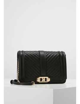 Chevron Quilted Small Love   Umhängetasche by Rebecca Minkoff