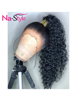Hd Transparent Invisible Lace Wig 360 Lace Frontal Human Hair Wigs Curly Long Preplucked Bleached Knots Natural Peruvian Remy by Ali Express.Com