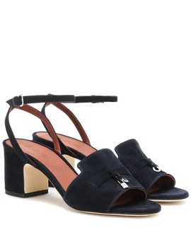 Summer Charms Suede Sandals by Loro Piana