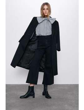 Spodnie Jeansowe Zw Premium Marine Straight by Zara