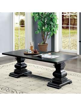 Gracewood Hollow Digish Antique Black Coffee Table by Gracewood Hollow