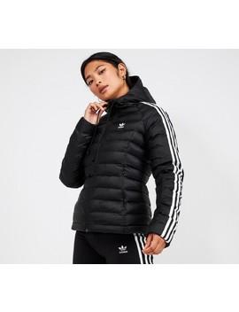 Womens Slim Line Jacket | Black / White by Adidas Originals