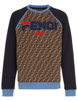 Mania Logo Sweatshirt by Fendi