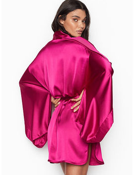 Crepe Back Satin Kimono by Victoria's Secret