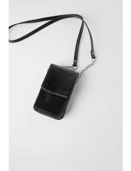 Crossbody Phone Case by Zara