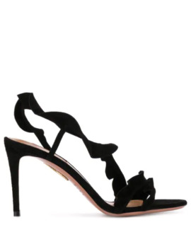 Sue High Heel Sandal by Aquazzura