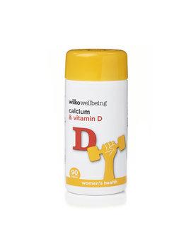 Wilko Calcium And Vitamin D Tablets 90 Pack Wilko Calcium And Vitamin D Tablets 90 Pack by Wilko