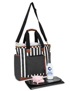 I Pack Baby Smooth Sailing Diaper Bag   Duffle Tote by I Pack Baby