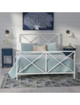 Hashtag Home Aleksei Reese Patterned Bed by Wayfair