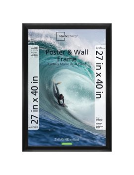 "Mainstays 27x40"" Casual Black Poster And Picture Frame by Mainstays"