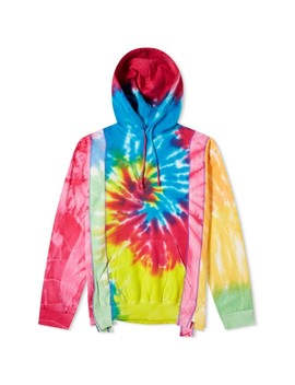 Needles 5 Cuts Tie Dyed Popover Hoody by Needles