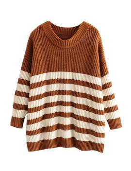 'gracia' Striped Knitted Sweater (7 Colors) by Goodnight Macaroon
