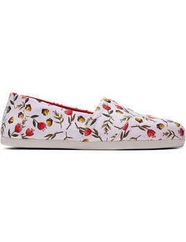 Thankful Floral Print Women's Classics by Toms
