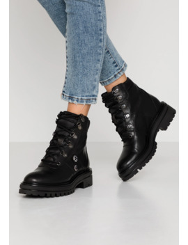 Lace Up Ankle Boots by Uma Parker