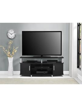 Ameriwood Home Carson 50 Inch Black Tv Stand by Ameriwood Home