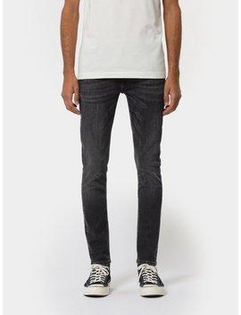 Skinny Lin Worn Black by Nudie Jeans