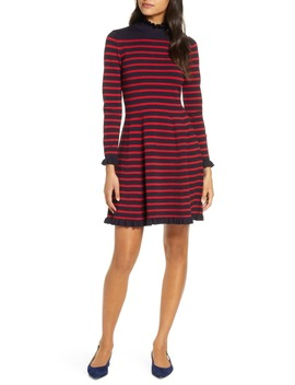 Striped Sweater Sweater Dress by 1901