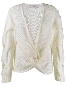 Loose Knit Wrap Top by Iro