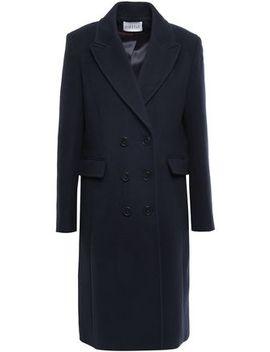 Gari Double Breasted Wool Blend Coat by Claudie Pierlot