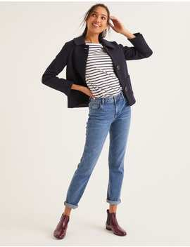 Trefusis Jacket   Navy by Boden