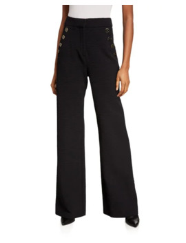 Tuli Wide Leg Pants   Extended Sizes by Veronica Beard