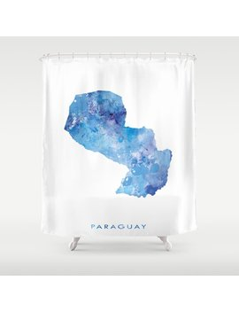 Paraguay Shower Curtain by Society6