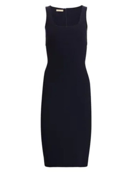Crepe Wool Sheath Dress by Michael Kors Collection