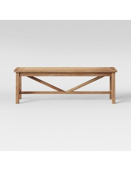 Wheaton Dining Bench   Threshold™ by Shop Collections