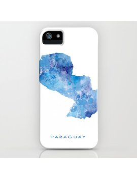 Paraguay I Phone Case by Society6