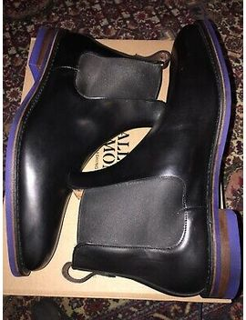 Allen Edmonds Brand New Liverpool Boot 12 Black 12 E Wide Blue Dainite Sole by Ebay Seller