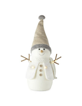 North Pole Trading Co. Snowman With Led Lights  Figurine by North Pole Trading Co