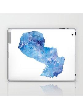Paraguay Laptop & I Pad Skin by Society6
