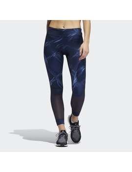 Own The Run 7/8 Fences Leggings by Adidas